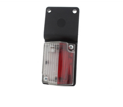 Габаритный фонарь белый-красный (54х40мм) с кронштейном/LOW 119/1809