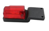 Габаритный фонарь красный (54х40мм) с кронштейном/LOW 118/1811