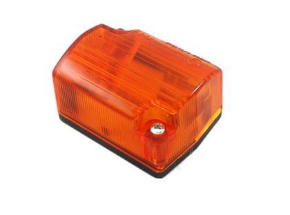 Габаритный фонарь (54х40мм) желтый/LO 112/1814
