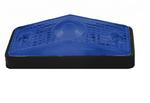 Фонарь габаритный синий (95х34мм)/LO 265/1817
