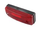 Габаритный фонарь для грузовика красный (96х36мм)LO 302/1831