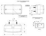 Стоп для грузовика дополнительный без крепления с проводом/LP 059/1833