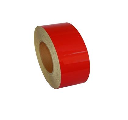 Лента-наклейка светоотражающая рулон 50м*50мм красная/1920