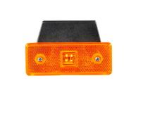 Фонарь габаритный универсальный диодный желтый 110х42/1926/L0030