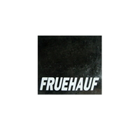 Брызговик с надписью FRUEHAUF 450х400 универсальный/1946