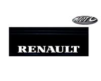 Бризговик с надписью RENAULT 650х200 (объемный текст) передний/1041/1948 RENAULT