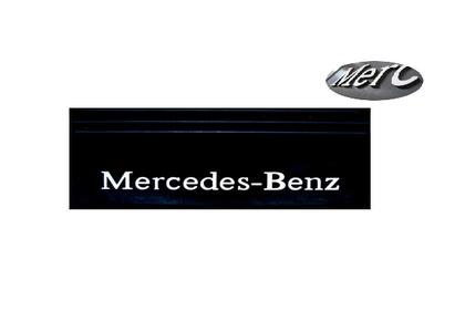 Бризговик с надписью MERCEDES-BENZ  650х200 (объемный текст) передний/1042/1949