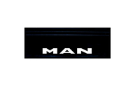 Бризговик с надписью MAN  650х200 (объемный текст) передний/1046/1953 MAN