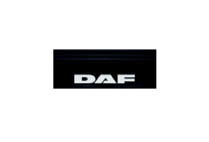 Бризговик с надписью DAF  650х200 (объемный текст) передний/1047/1954