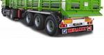 Брызговик для грузовика-прицепа 350x2400 надпись RENAULT/1971