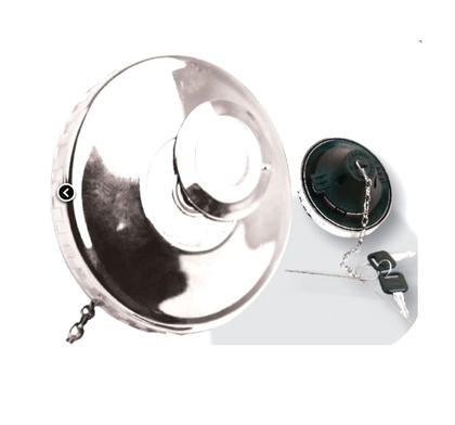 Крышка бака универсальная металлическая 80 мм MERCEDES-MAN-VOLVO-SCANIA-DAF/MMK-06H/2006