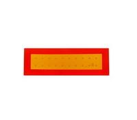 Табличка длинномерный груз светоотражающая металлическая 200Х560 мм/2018