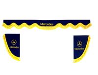 Шторки на лобовое+боковые стекла Мерседес цвет синий/2585 MERCEDES-BENZ