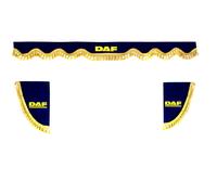Шторки на лобовое+боковые стекла DAF цвет синий/2020