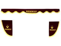 Шторки на лобовое+боковые стекла RENAULT цвет бордовый/2021 RENAULT