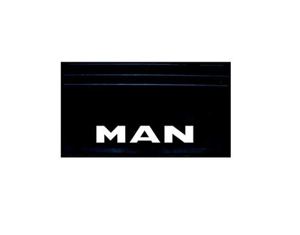 Брызговики задние с оттиском MAN 650х350 комплект/2101-1006