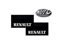 Брызговики задние с оттиском Renault 650х350 комплект/2118-1001/2118