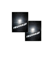 Брызговики на прицеп с надписью Fruehauf (400х500)/2134-1063/2134