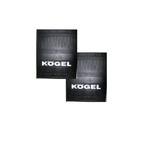 Брызговики на прицеп с надписью Koegel (400х500)/2138-1068/2138