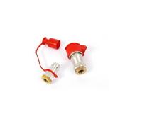 Клапан воздушный   16/22*1,5 мм (красный)/JC-099/599