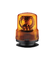 Mаячок оранжевый диодный 12-24V с магнитным креплением/2314