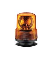 Mаячок оранжевый на лампочке 24V с магнитным креплением/2317