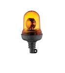 Mаячок оранжевый лампочка 24V с креплением/2316