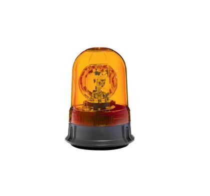 Маячок 24V (магнит) желтый/2318