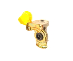 Клапан воздушный  желтый 16 х 1,5 с клап. SAMER (3822)S 020-02/2380