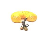 Шланг воздушный полиамид. желтый М16х1,5 SAMER S 180-105A/2396