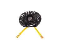 Шлан гвоздушный черный 22х1,5 (желтый) 7,5м. JC-009 /2405