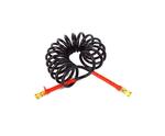 Шланг воздушный черный 16х1,5 красный7,5м. JC-009 /2403