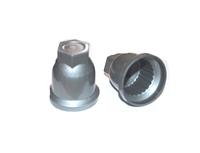 Защитный колпачок на гайки серебрянный/1411-2429