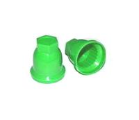 Защитный колпачок на гайки зеленый/1412-2430
