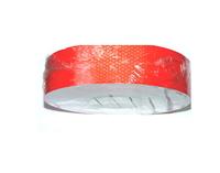 Лента-наклейка светоотражающая 1-й сорт, рулон 50м*50мм красная/2439
