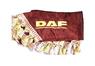 Шторки на лобовое+боковые стекла DAF цвет бордовый/2447