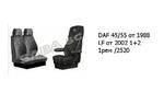 Чехлы DAF 45/55 от 1988 LF от 2002 1+2 1рем /2520