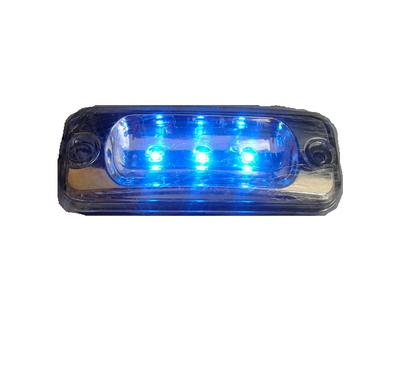 Габаритный фонарь светодиодный, синяя подсветка/2535