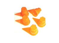 Защитный колпачок-стрелка на гайки оранжевый/2595