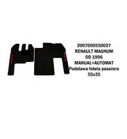 Коврик велюр RENAULT MAGNUM от 96 manual+automat/3009 RENAULT
