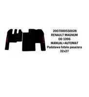 Коврик велюр RENAULT MAGNUM от 96 manual+automat основа стільця пассажира 32х27/3010 RENAULT