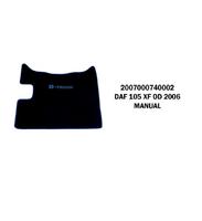 Коврики велюровые середина DAF 105 XF от 2006 manual/3043 DAF