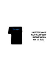 Коврики велюровые середина MAN TGA от 2000 узкаякабина, TGS от 2007 MAN