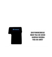 Коврики велюровые середина MAN TGA от 2000 широкая  кабина MAN