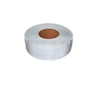 Лента-наклейка светоотражающая 1-Й сорт,рулон 50М*50ММ белая/3133
