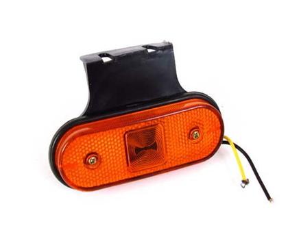 Повторитель габарита диодный желтый LED боковой/AT-1500/336