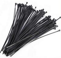 Хомут пластиковый черный (100шт.) TASMA 4,8х300/3378