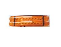 Габаритный фонарь 18 диодов,желтый/3384