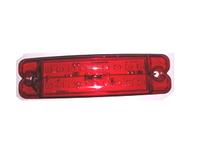 Габаритный фонарь 18 диодов,красный/3385