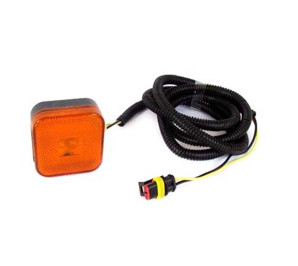 Повторитель габарита диодный LED для MAN желтый с проводом (LD 097)/AT-5300/346